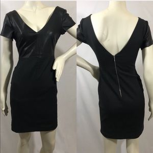 Zara V Back Dress Sz M